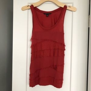 Banana Republic red tank top